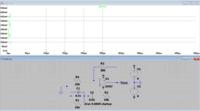 LTspiceでウィーンブリッジ発振回路のシミュレーションをしているのですがうまくいきません.  最終的には500kHzの発振回路を制作したいのですが,定数の決め方がわからなくて困っています. 試しに発振条件と発振周波数を  http://www.rlc.gr.jp/project/e_circuit/analog/opamp/wien_bridge/genri/genri.htm  このサ...