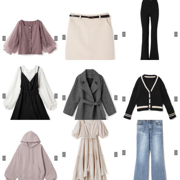 下の写真にある服の系統はざっくりどんなものなのか教えて頂きたいです