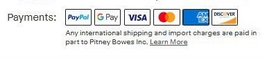 久しぶりにeBayで落札したんですが、ペイパル支払いが出来ません。 これは普通にペイパル使えますよね? なのに支払い画面に以降すると This payment method is currently not available. Please select a different payment method. となり、駐禁のようなマークが出てきて支払いが出来ません。 解決策を教えてください