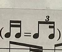楽譜についての質問です 写真に書いてある記号がついている時は どのように考えたらいいのでしょうか?