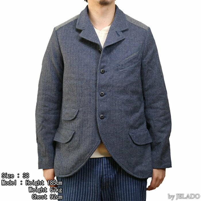 画像のテーラードジャケットの生地は何か分かりますか?