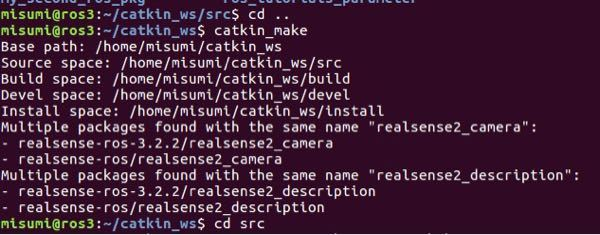 ROSでrealsensed435を使いたいのですが roslaunch realsense2_camera rs_camera.launch を起動すると [rs_camera.launc...