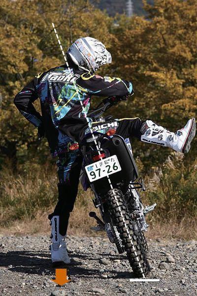 脚が短いせいでオフロードバイクに乗れません 脚が短くても乗れるようなオフロードバイクってありますかね、?