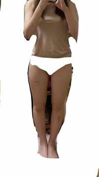 162~3cm 55~56kg の女です。 この体型は太いと思いますか?あと骨格はなにか分かりますか?