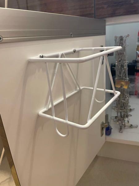 洗面台下の収納部分に備え付けられている これはどういった使い方をするのでしょうか? わかる方いらっしゃれば教えて頂きたいです