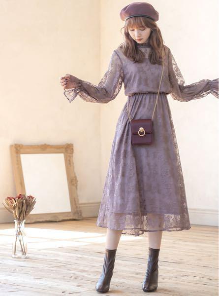 このワンピースの黒バージョンを持っていて気に入っているのですが、寒くなってきたので一枚羽織るものを買おうかなと思っています。 このワンピース似合うアウターがあれば教えてください。 できれば秋の気候にあったものが良いです。