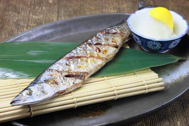 この秋、秋刀魚くんは何匹ぐらいお腹に入りました? (^。^)♪