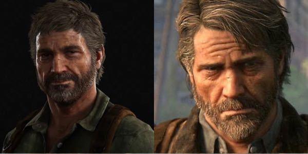 The Last Of Us(ラストオブアス)のジョエルの髪型について。 2(左側)の時の少し長めの方がカッコいいと思うのですがいかがですか?