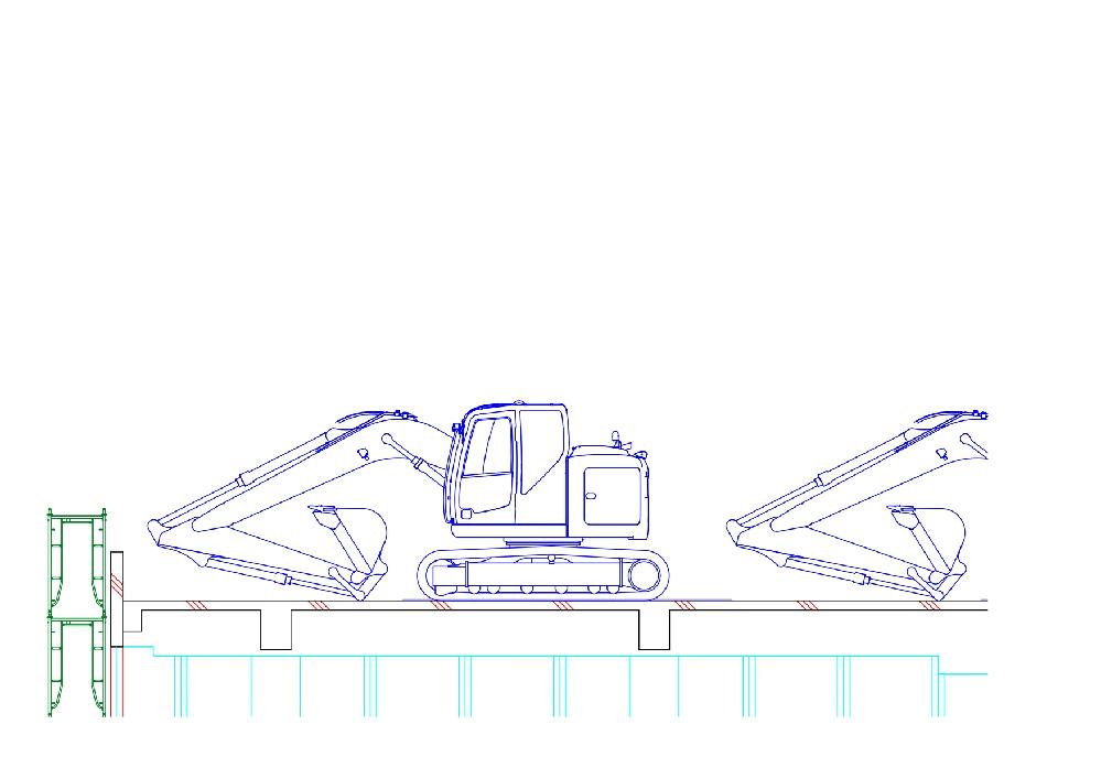 AUTOCAD2022で、この重機を塗りつぶしでハッチングしたいのですが、重複するオブジェクトが多過ぎるのと閉じた境界が検出できないというエラーが出て進まず参っています。やり方を教えてください。 #AUTO CAD2022