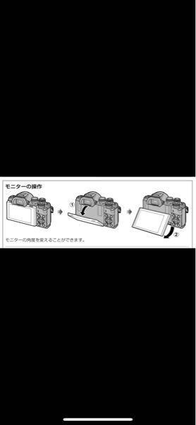 3年前に購入したオリンパスのミラーレスのomd em10 mk2を使用しています。電源をつけてもモニターが真っ暗で、モニターを持ち上げ少し角度をつけると点灯します。以前はこのような事が起きなかったので何かしらの故 障か手入れ不足なのか… カメラに詳しい方教えてください。