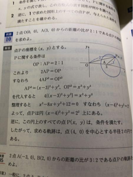 この解答の逆にってどう言う意味ですか?