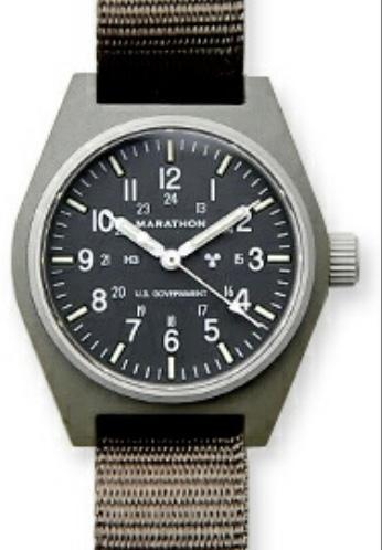 ミリタリーウオッチを検索しているとき、米軍には正式に納品されている時計はないとかかれたサイトが多いですが、marathon社は正式に採用されてないのですか?