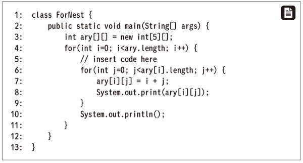 javaの以下bdeはコンパイルエラーになるのですが、何故でしょうか?? A ary[i] = new int[i]; B ary = new int[i]; C ary[i] = new int[i+1]; D ary = new int[i+1]; E ary[] = new int[i+1];