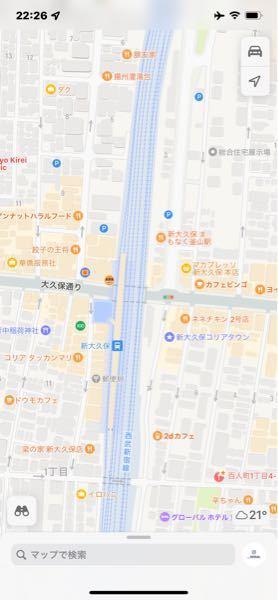 新大久保駅、この画像の右側は東西南北何口でしょうか?