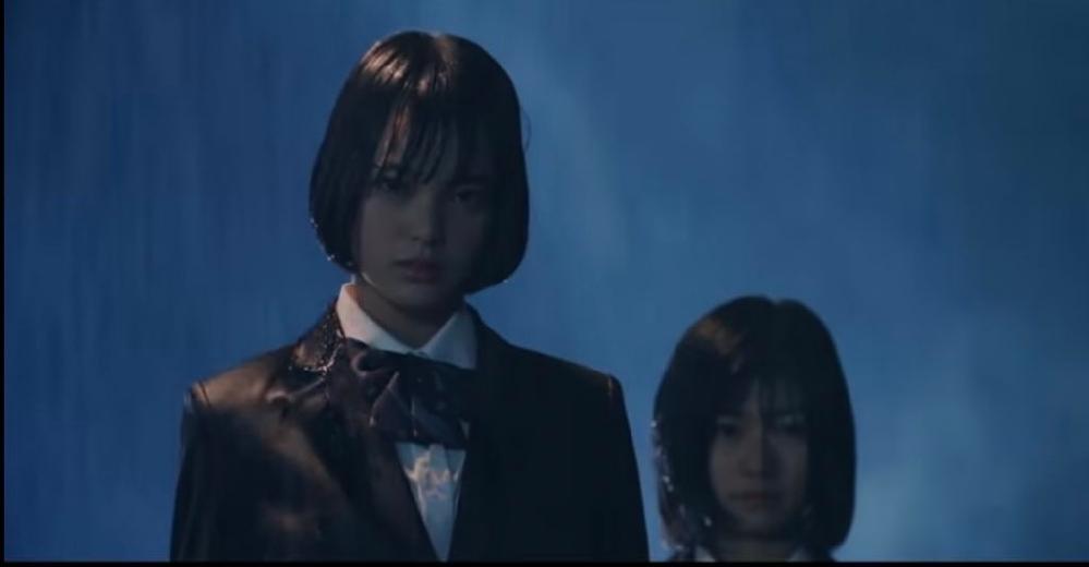 欅坂461stシングルの平手友梨奈さんの個人pvに森七菜さんは出演していますか? 土砂降りの中に平手友梨奈さんともう1人の少女がいる場面があるのですが、その少女が森七菜さんにしか見えません。調べても出てこなかったので教えて欲しいです。