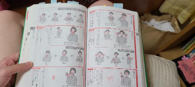手話について、 辞書にはない とかの、「ない」は、①~④のうちどれ?