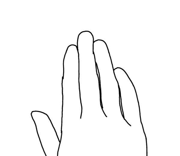 小さい頃からピアノを習っている方に質問です。 私は4歳頃からピアノを習っているのですが、両手の薬指と小指が中指側に曲がっています。 他にも同じような方居ますか? 曲がっているせいで手が綺麗に見え...
