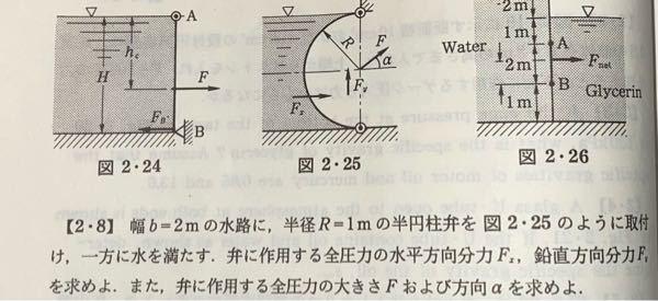 問題[2.8]が分かりません。 特にFyの求め方が分からず困ってます。 分かる方は詳しく教えてください!!