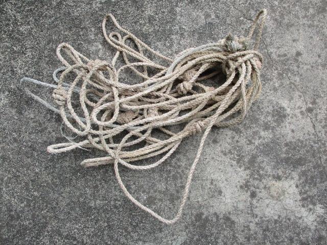 これは、漁具ですが、輪っかになっている 紐なのですが、何に使う何というもので しょうか?