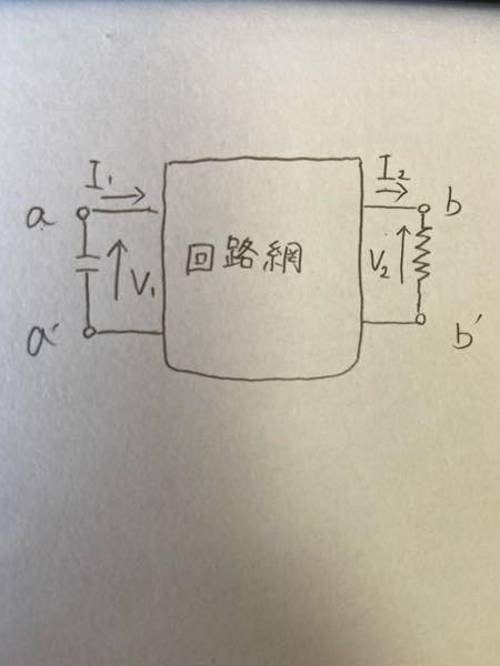このような回路でb-b'間に電圧計を接続すれば開放、電流計を接続すれば短絡になる理由を教えてください。