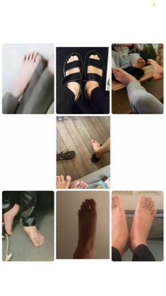 これ本当にテヒョンの足なんですか?