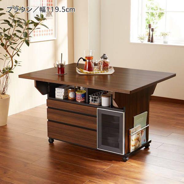 引っ越しに関する質問 テーブルの(下が引き出しになっており脚の取り外しなど不可) 家具の下にまたがって敷いてあるカーペットは当日巻くのでも良いのでしょうか?(6畳用サイズ) てテーブルの上も段ボール積んでまして、部屋も狭くてもう移動してパズルできない状況。 写真のようなテーブル。