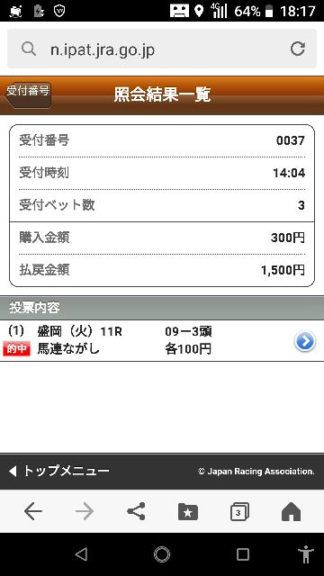 門別10レース 10ー4.8.11 なにかいますか?