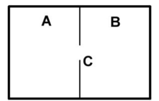 以下は「マクスウェルの悪魔(デモン)」と呼ばれる架空の生物に関する文章である。 【ア】、【イ】にあてはまる語句として最も妥当なのはどれか。 ・気体のつまっている容器があり、その容器は小さなすき間 C のある間仕切りによってA、B 二つの部分に仕切られている。 ・個々の分子の動きを捉えることのできるこの生物は、すき間を通る分子を見張っており、比較的速く運動している分子だけをAからBへ行かせ、比較的遅い分子だけをBからAへ行かせる。 この生物は、かくしてAの温度を【 ア 】げ、Bの温度を【 イ 】げることができる。 A. ア:上 イ:上 B. ア:上 イ:下 C. ア:下 イ:上 D. ア:下 イ:下