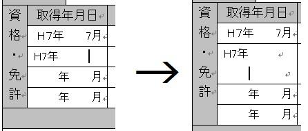 ワードで改行になる とあるワードのエントリーシートで、文字を入力したら改行して段が付くのですが、 どうすれば、よいでしょうか? 元に戻る以外で教えてください。