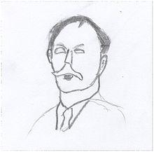 Wikipediaで「カール・ワルサー」について検索すると下のような人物画像が出てきます こらは本人(ワルサー)の自画像ですか?