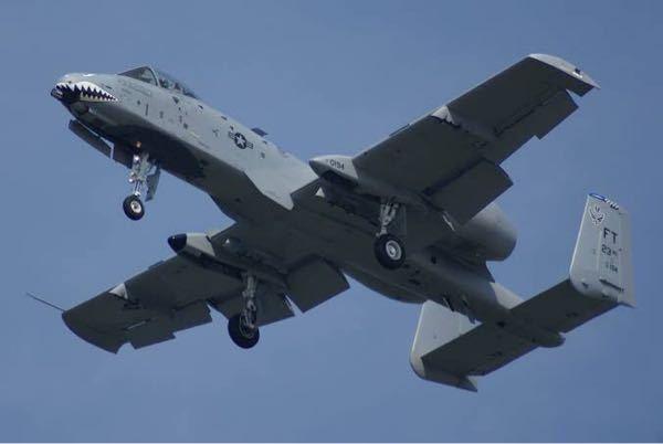 A-10の脚って艦載機より頑丈ですか?