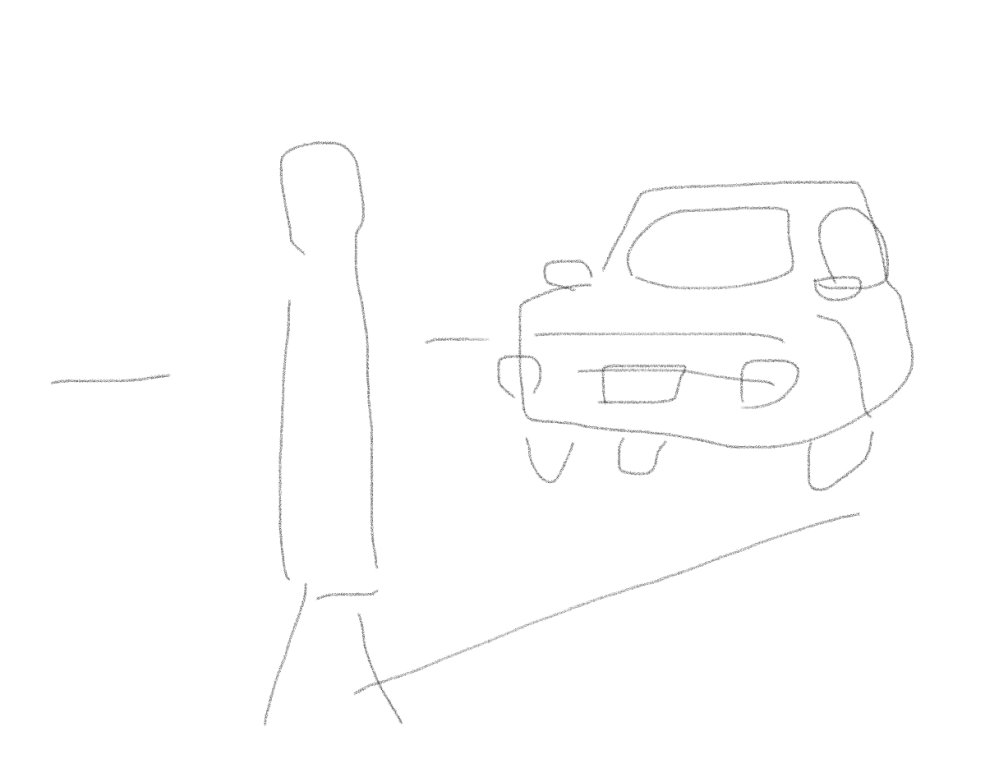 車と徒歩が待ち合わせするとき、車側にいるのと、立ってる側にいるの、どっちがいいですか? 変な質問ですみません 私はどちらかというと車にいるほう