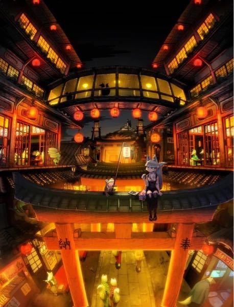 画像のような街並みが連想されるファンタジーの小説はありますか?