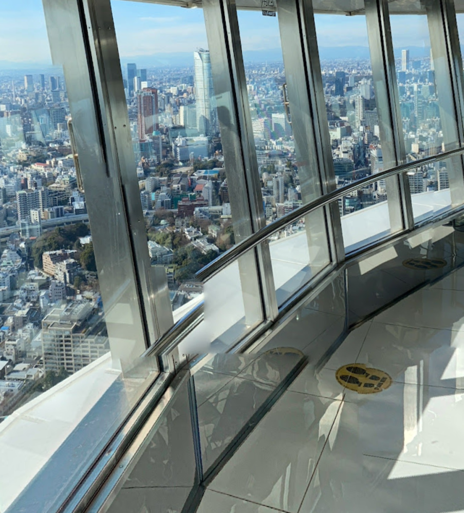 東京も高いところに登れば、山見えますか?