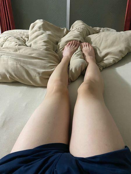 この脚は男性の脚ですか?女性の脚ですか? 男子中学生 女子中学生 男子高校生 女子高校生 ダイエット 足