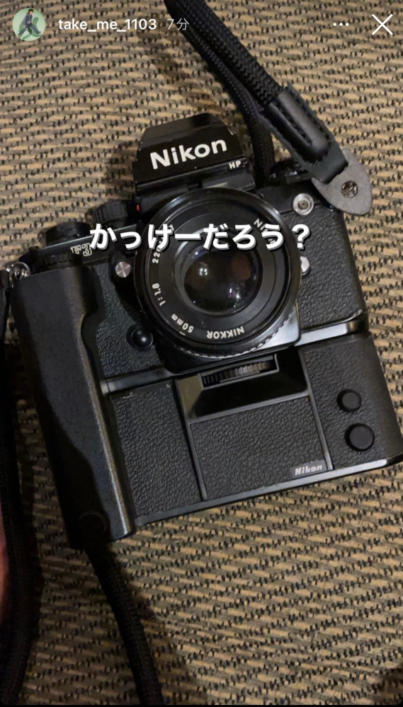 画像のカメラは何という機種でしょうか。 Nikon カメラ