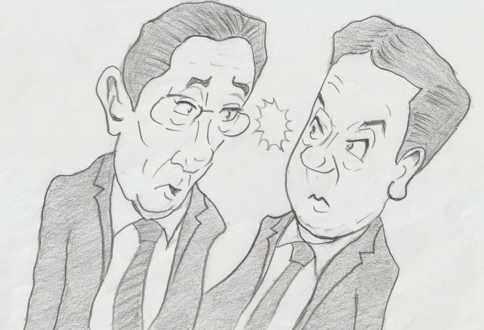 ボンジュール(^O^)/ 今日はとても難しい質問します! ㅤㅤㅤㅤㅤㅤㅤㅤㅤㅤㅤㅤ 10月31日に衆議院選挙があります 選挙に行きますか?行きませんか? ㅤㅤㅤㅤㅤㅤㅤㅤㅤㅤㅤㅤ 似顔絵を描いてみましたが下手なのはご容赦ください(*^^*)