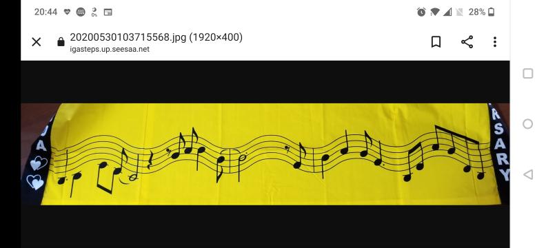 松田聖子40thのはっぴに書かれている楽譜はなんの曲ですか?