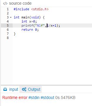 すみません、なぜこのC言語のプログラムで「ランタイムエラー」になるのか教えてください。