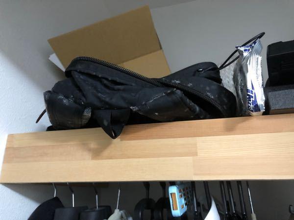 クローゼットの上の物置に(3ヶ月程度)放置していたリュックがこんな状態(檜風呂みたいな糸?)になっていました。これはなんでしょう?また、これを除去する場合綺麗に取れるでしょうか?素手で触っても大...