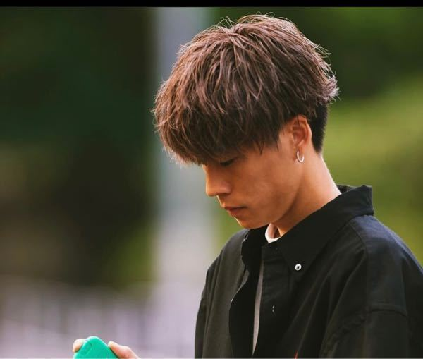 この髪型はパーマかけていますか?