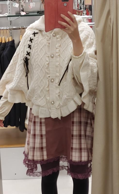 このファッション、可愛いですか? お礼100枚。 回答よろしくお願いします。