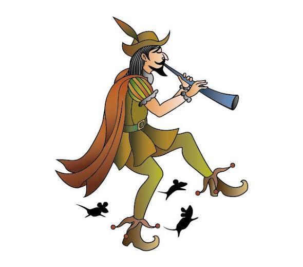 この絵はハーメルンの笛吹男の絵です。この絵のねずみではなく人バージョンを探してるのですがありますか?