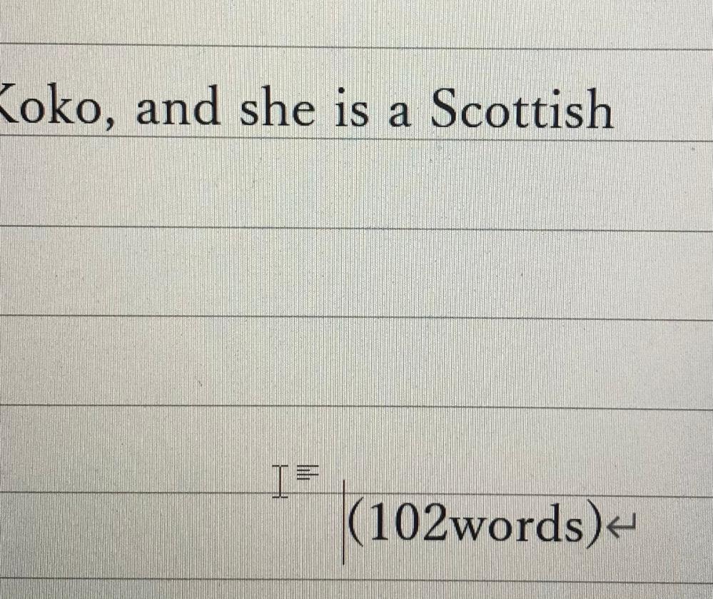 102wordsを上みたいに線ギリギリにしたいのですが、どうするか分かりません。教えてください!