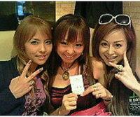 押尾の事件の被害者↓写真の3人の誰が田中さん?