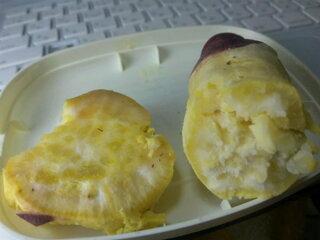 レンジ ふかし 芋