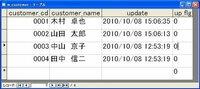 テーブルデータの有無をチェックするコード (AccessVBA) 図のようにテーブルにデータが入力されており、 カード型のフォームにこのデータが表示されています。  フォーム上に作成したボタンをクリックすると 以下のような処理をしたいと思っています。  例えば・・・ もし「customer_cd」に同じデータが存在していない場合は、 「customer_cd」の続きの番号(こ...