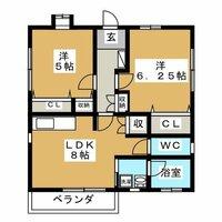 賃貸アパート 2LDKの間取りについて 大人2人で住むアパートについて、都内で以下の画像の間取りはいかがでしょうか?  都内23区外ですが、駅徒歩10分で、9万8千円。築5年。 条件はそろっているの...