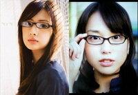 北川景子と戸田恵梨香   どっちがメガネ美人?