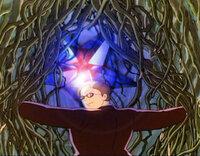 ヱヴァ第6使徒(ラミエル) VS ムスカ 定番(?)となりました、さあどうなるシリーズ第3弾w  ついにラピュタの中枢まで辿り着いたムスカ。 シータに巨大な飛行石を見せるべく、周囲を取り囲む木の枝を払い...